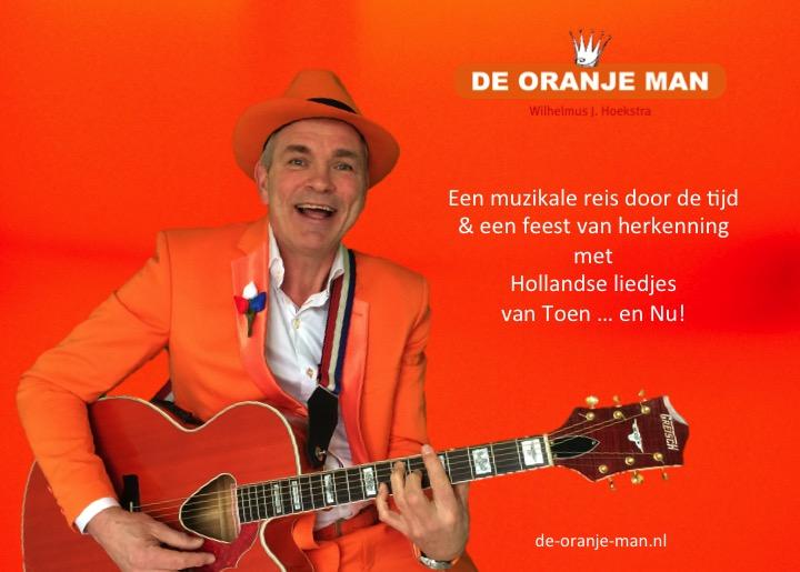 De Oranje Man - Troubadour Utrecht - Hollandse Liedjes