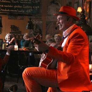 DE Oranje Man - liedjes van vroeger - De Zonnebloem