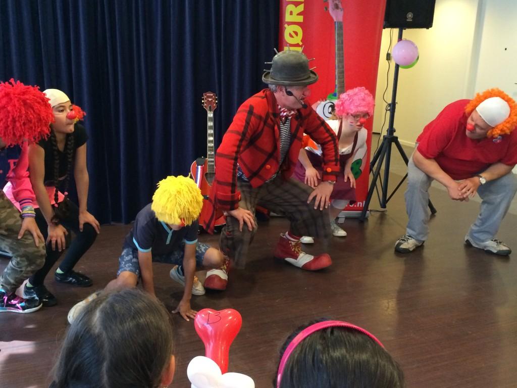 Clown Snorre Dagcentrum t Zand