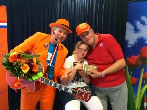 De Oranje Man - Wesley & Marjolein - Dagcentrum 't Zand