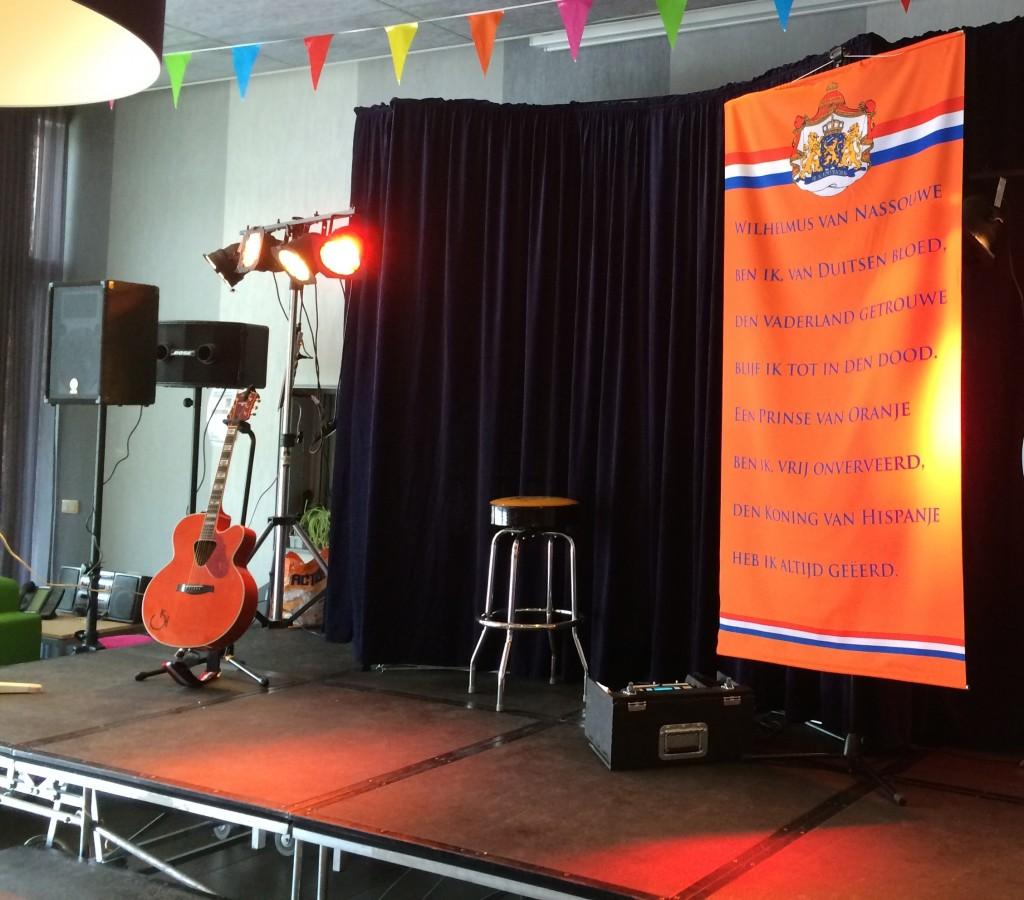 De Oranje Man Instelling Liedjesfeest