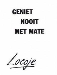 loesje_geniet_nooit_met